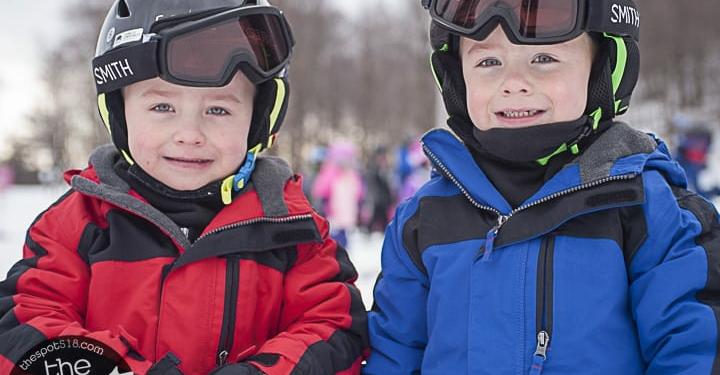 Willard Mountain skiing 2019.