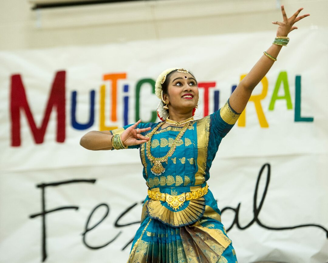 A dancer at the Multicultural Festival at Colonie High School. (Photos by Jim Franco/Spotlight News)