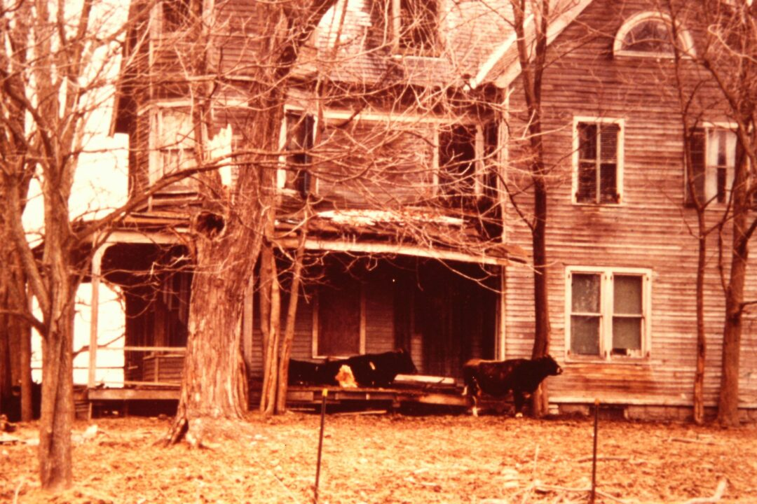 The King House is long remembered as the abandoned house on the corner. Submitted photo