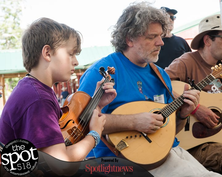 Music lovers can turn back time with the annual Old Songs Folk Festival of Traditonal Music and Dance at the Altamont Fairgrounds.Jim Franco / Spotlight News