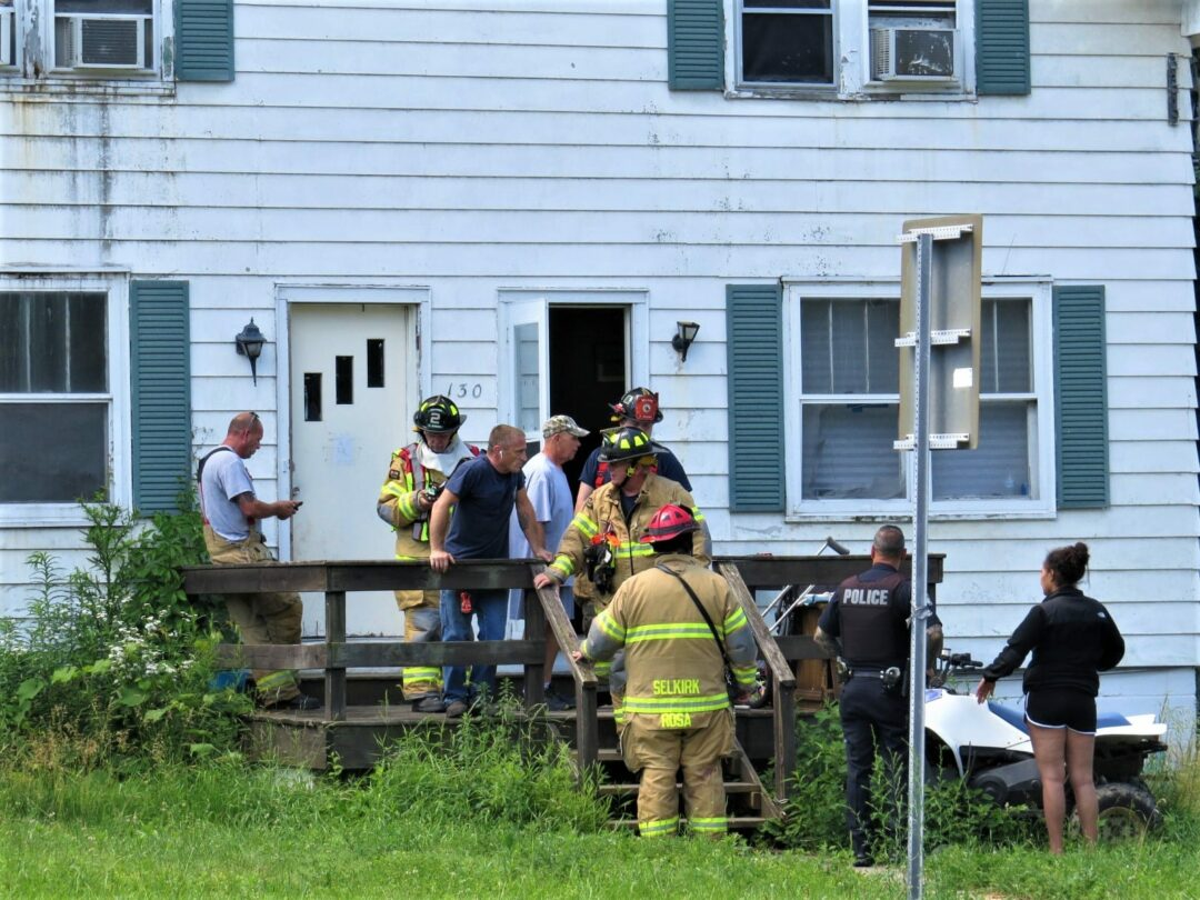 Paramedics arrived on the scene but building inspectors determined that the building, where the incident happened, had unsafe living conditions. Tom Heffernan Sr. / Special to Spotlight News