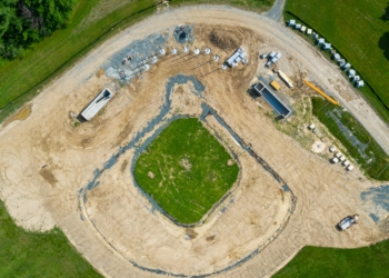 The new baseball diamond at Bethlehem High School. Jim Franco/Spotlight News