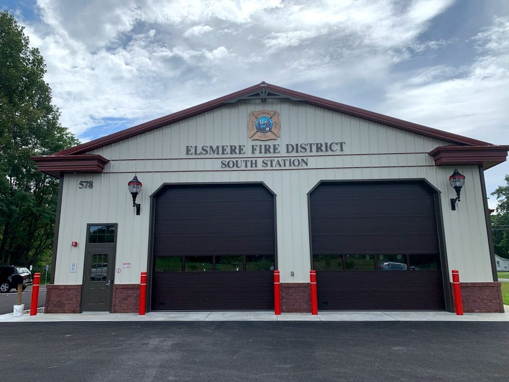 The Elsmere Fire District's new substation has technically been in service since Aug. 7 already. Diego Cagara / Spotlight News