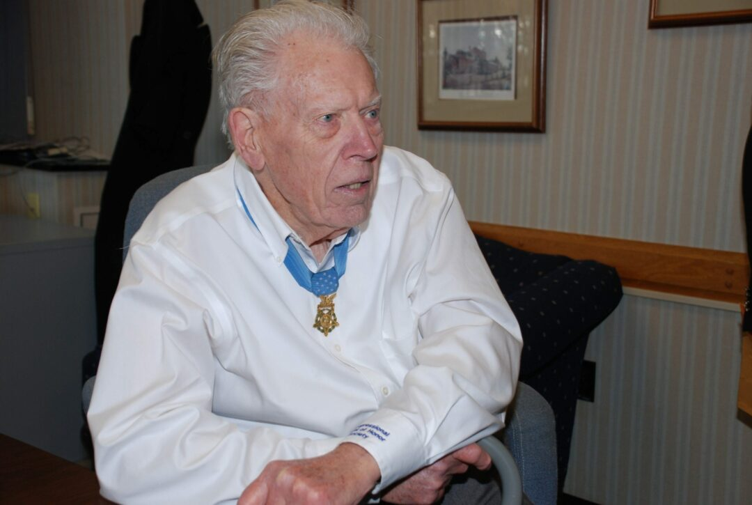 Francis S. Currey, above, was one of the last few surviving World War II veterans who received the Medal of Honor. Tom Heffernan Sr. / Special to Spotlight News