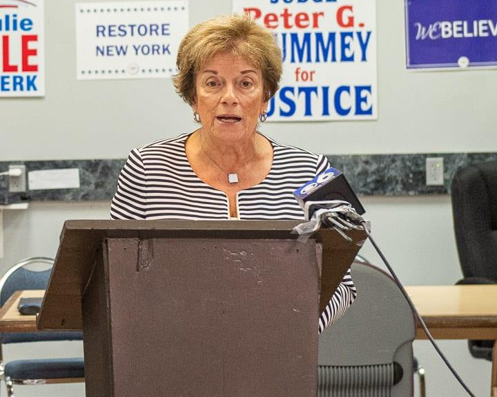 Albany County Republican Party Chairwoman Christine Benedict (Jim Franco/Spotlight News)