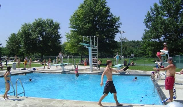 The dive pool at Elm Avenue Town Park was closed last summer, and it has now been deemed beyond repair, said the town's Parks and Recreation Department. Town of Bethlehem