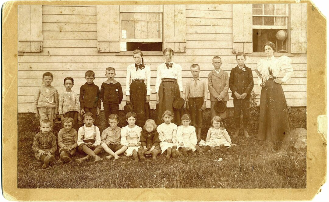 A photo dating back to 1893 shows 18 students of varying ages standing in front of the Boght School with their teacher. The school would continue to be used well into the 20th century.   Town of Colonie