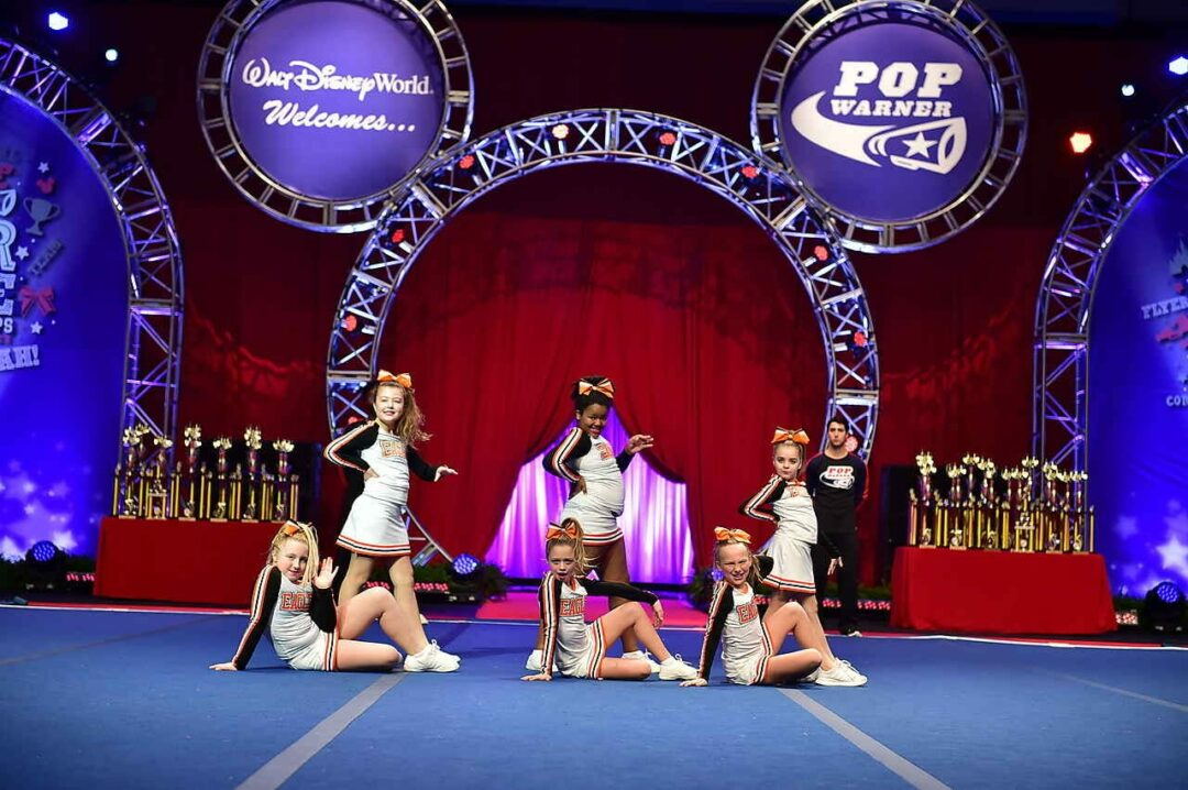 The Bethlehem Pop Warner Cheerleading team expressed hope that more girls will join this year before they compete again this fall.Lindsey Bradt