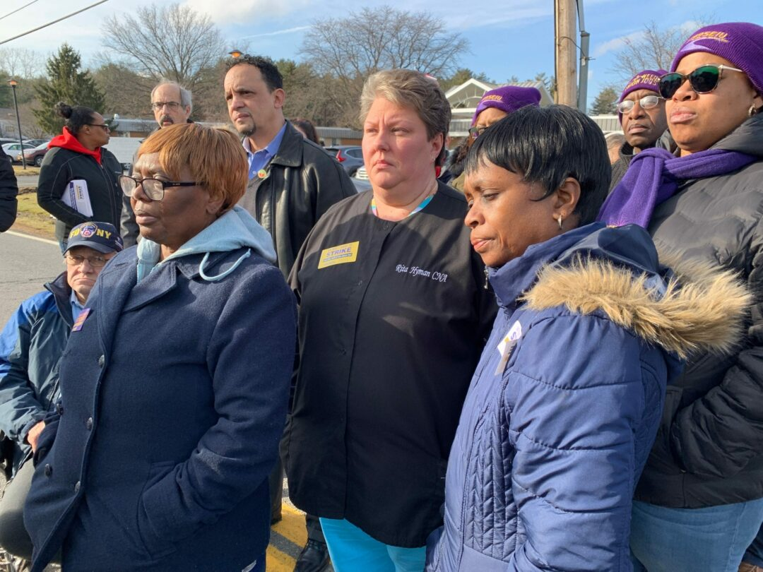 Employees at the Good Samaritan Nursing Home and Kenwood Manor had been worried about losing their health insurance and jobs for months but a new contract agreement may help. Mindy Berman