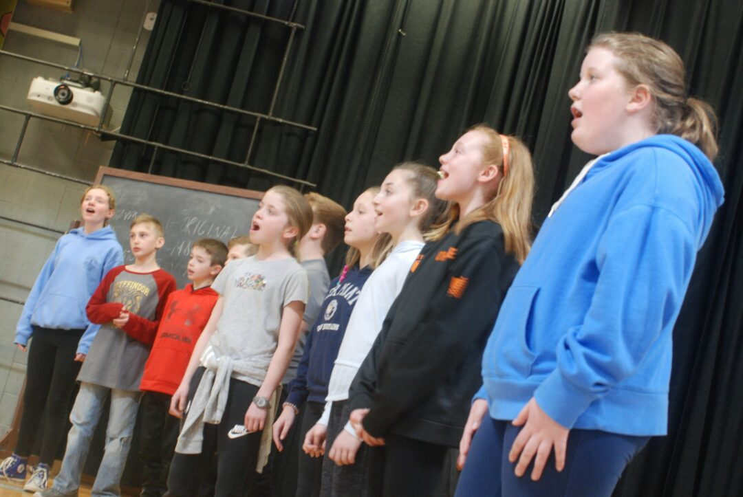 """The """"Our School"""" musical production will reflect on Slingerlands Elementary School's history, its 50-year musical program and recognize numerous past and current faculty members.Diego Cagara / Spotlight News"""