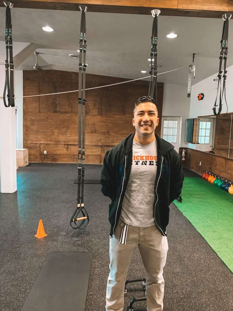 Eric Samson operates his new chiropractic office inside BrickHouse Fitness in Voorheesville but also works at an Albany practice. Provided photo