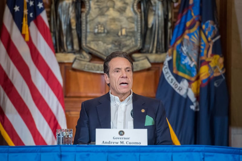 Gov. Cuomo, above, included educators and education leaders from across the state in the Reimagine Education Advisory Council.