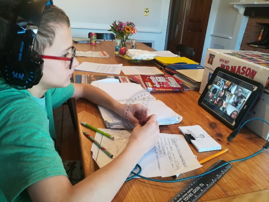 Zoom is among the most widely-used online platforms Capital District schools are using for their students to continue their education from home. Provided photo