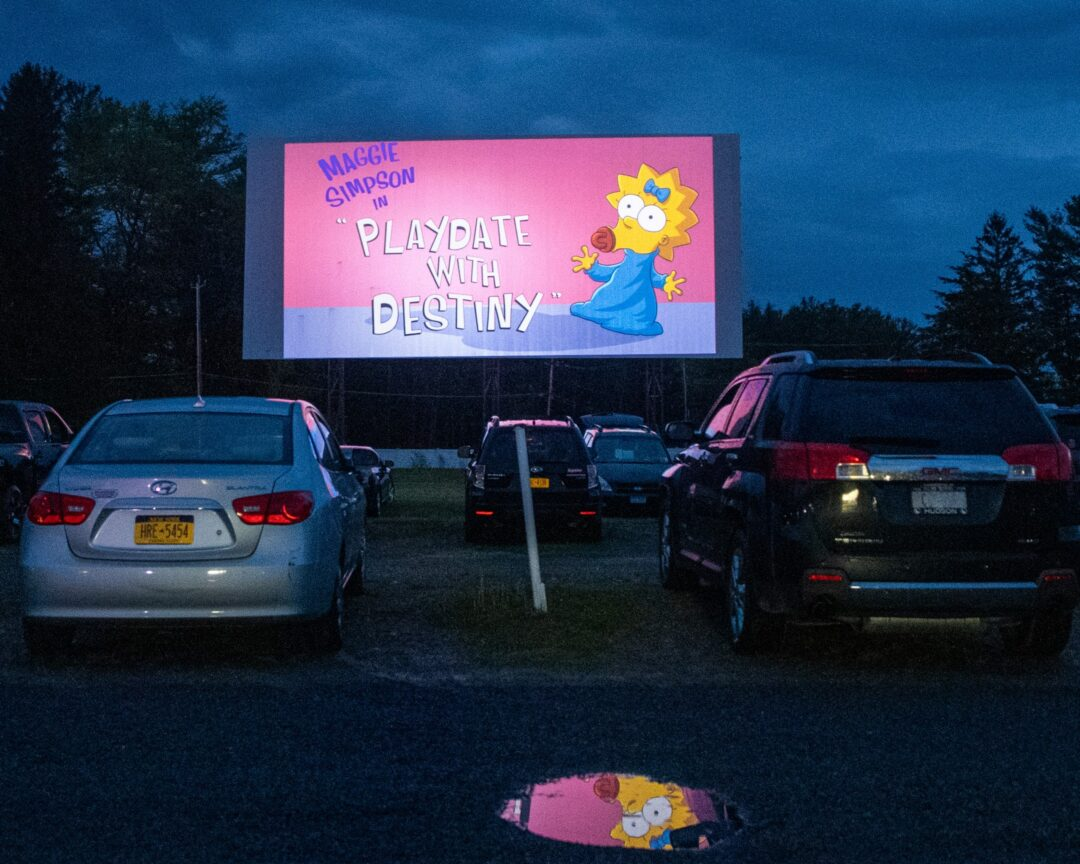 The Jericho Drive-In Theater in Glenmont experienced a large turnout during its May 15 reopening weekend but will continue to operate at 50 percent capacity to maintain social distancing. Jim Franco / Spotlight News