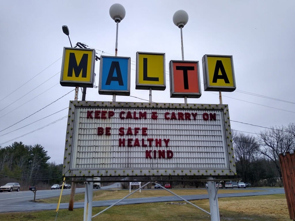 Ed Caro, who owns the Malta Drive-In Theater, revealed that eight local schools have reached out to him about possibly  holding graduation ceremonies on its premises. But as of Sunday, May 3, these plans are not confirmed yet. Provided photo