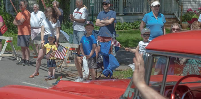 The Memorial Day Parade, above pictured in 2019, was postponed due to concerns for the veterans being at high-risk and people crowding closely together. Michael Hallisey / Spotlight News