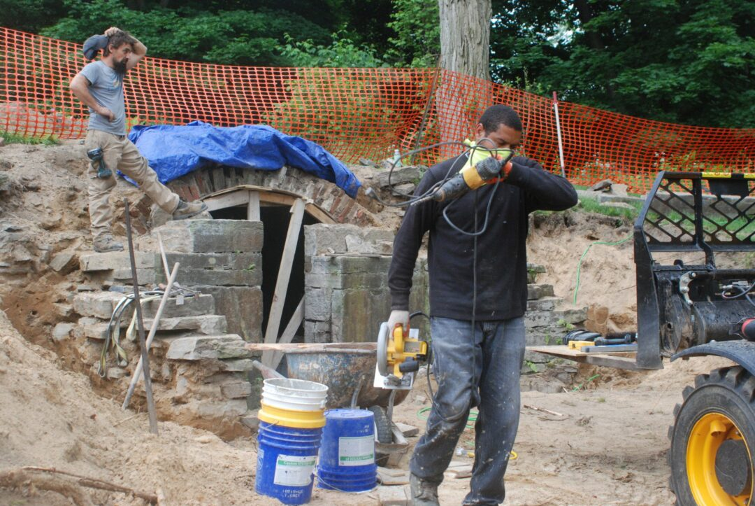 The historic Slingerland Family Burial Vault's restoration continues to depend on donations from the public since spring 2018. So far, $53,000 has been donated while the project costs a total of $105,779. Diego Cagara / Spotlight News