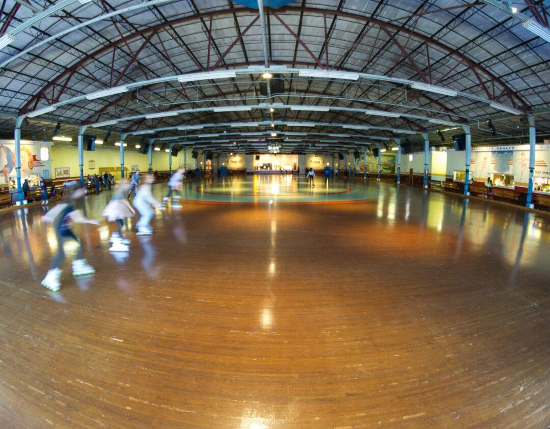 The main skating rink at Guptill's  Jim Franco/Spotlight News