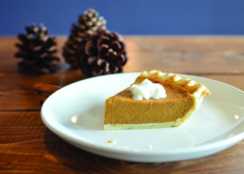 Free image/jpeg, Resolution: 4547x3012, File size: 1.06Mb, Thanksgiving Dinner, piece of pumpkin pie on white plate