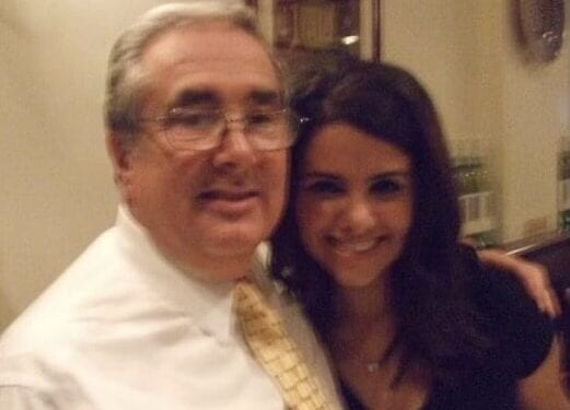 Sen. Guy Velella and Alexandra Velella, a candidate for Colonie Town Board. Photo submitted.