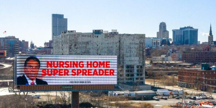 A billboard along 787 in the City of Albany.  Jim Franco / Spotlight News
