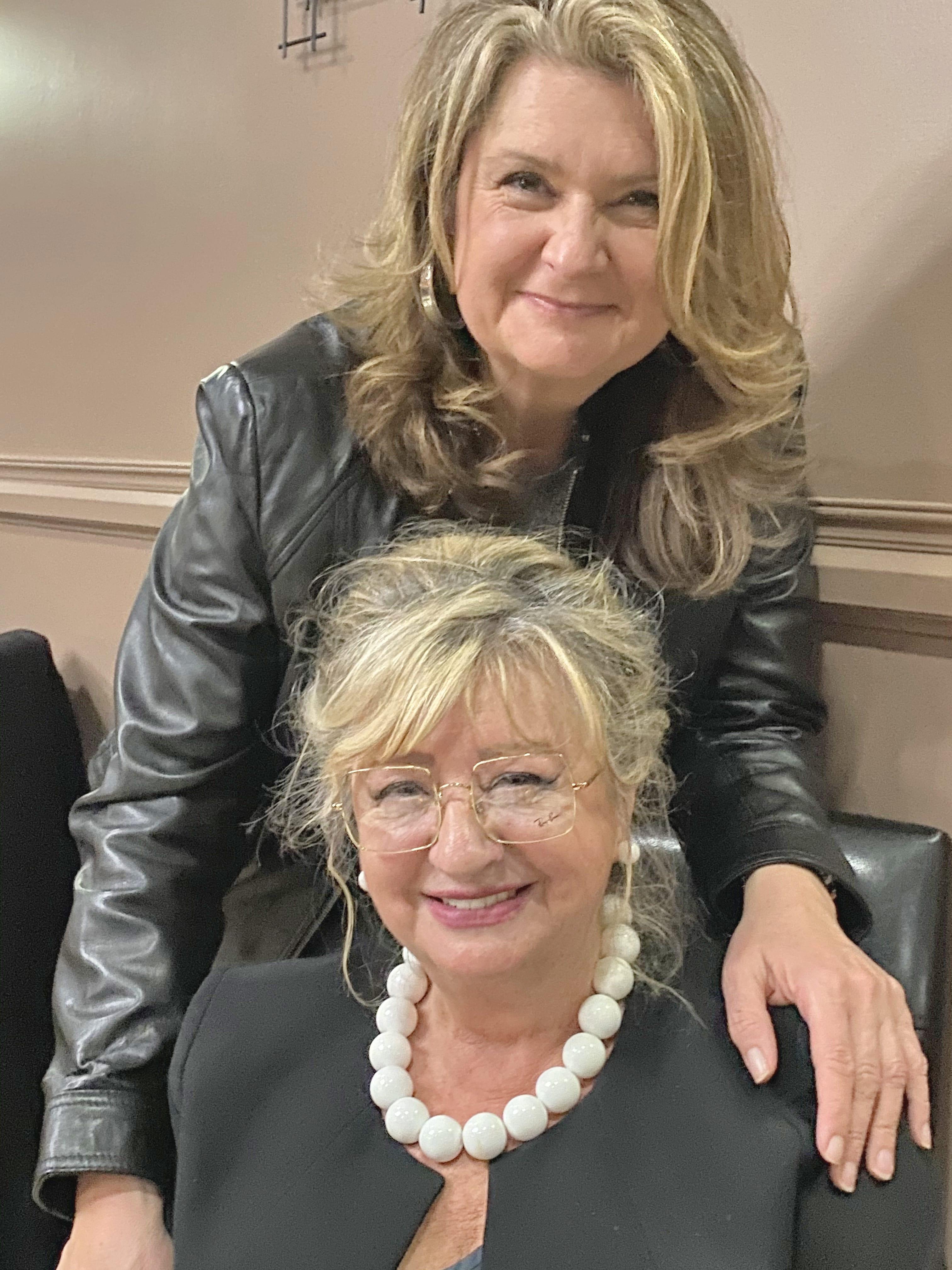 Renata Relyea and her mom Darina Cerny