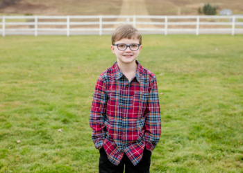Aedan Conway, of Delmar, was the Heart Hero for this year's Capital Region Heart Walk and Run. Photo courtesy of American Heart Association.