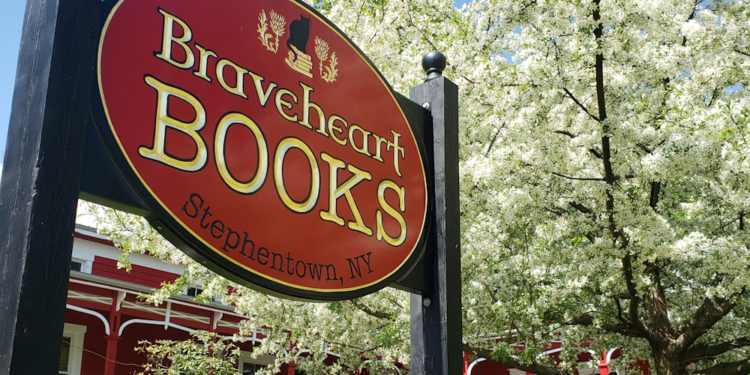 Braveheart Books. Photo provided by Louise Hendry