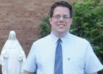 St. Thomas the Apostle's new school principal Adam Biggs. (Photo provided by Diocese of Albany)