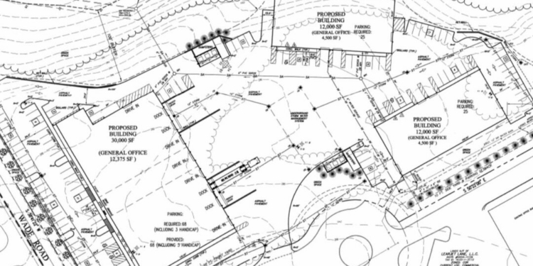 Three warehouse/offices proposed for Lear Jet Lane Colonie Planning Department